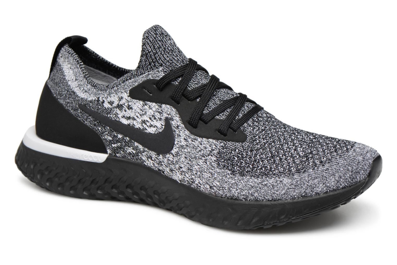 Grandes descuentos últimos zapatos Nike Wmns Nike Epic React Flyknit (Negro) - Zapatillas de deporte Descuento