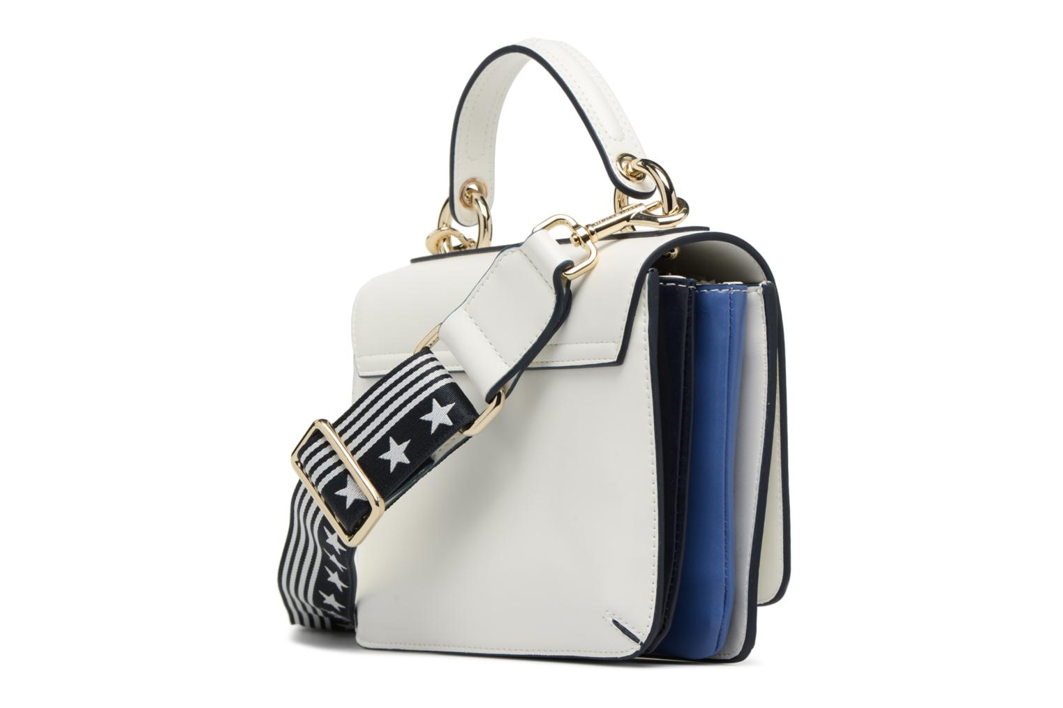 Sacs à main Tommy Hilfiger YOUTHFUL HERITAGE FLAP CROSSOVER Blanc vue droite