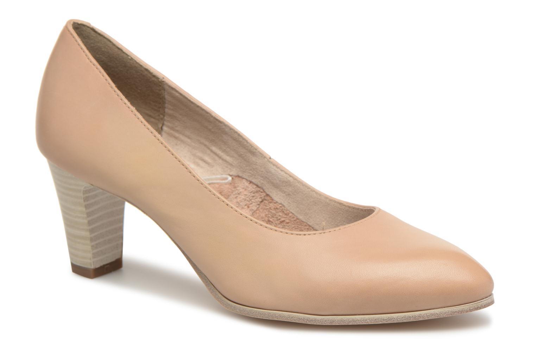 Marques Chaussure femme Tamaris femme Pavot Nude leather