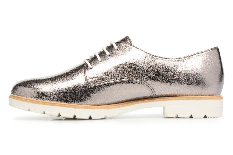 Chaussures à lacets Tamaris Combava Argent vue face