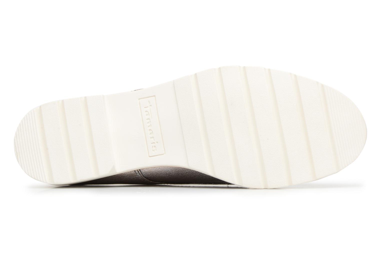 Chaussures à lacets Tamaris Combava Argent vue haut