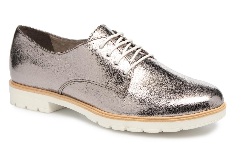 Chaussures à lacets Tamaris Combava Argent vue détail/paire