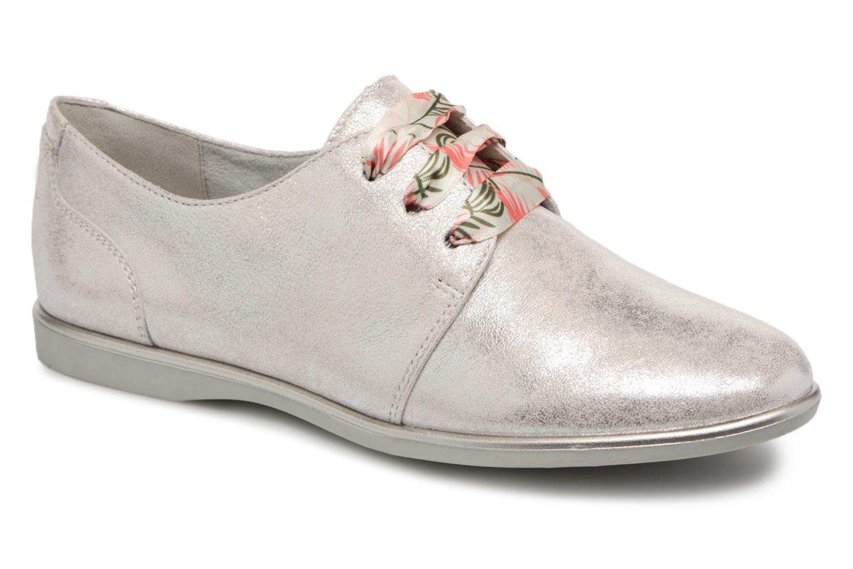 Grandes descuentos últimos zapatos Tamaris Cannelle (Plateado) - Zapatos con cordones Descuento
