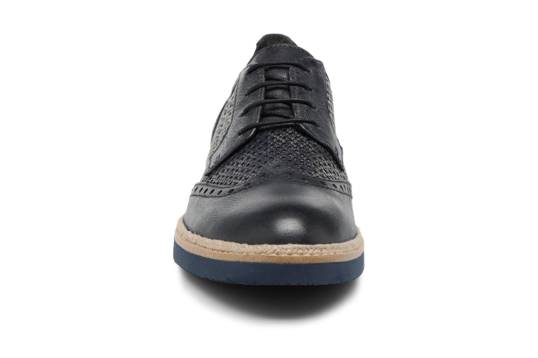 Chaussures à lacets Tamaris Girofle Bleu vue portées chaussures