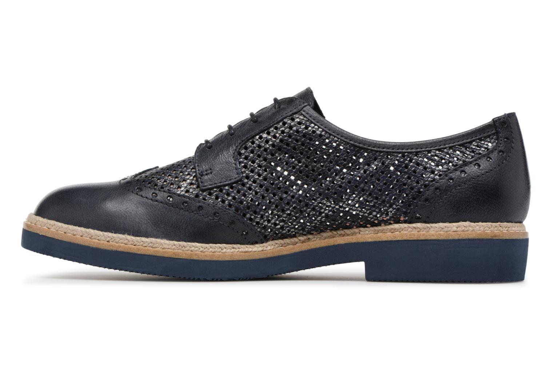 Chaussures à lacets Tamaris Girofle Bleu vue face