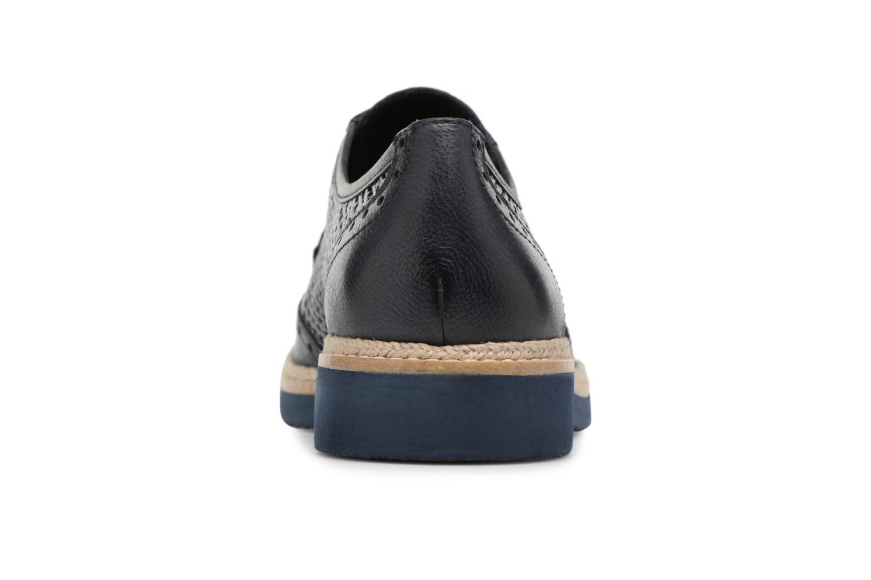 Chaussures à lacets Tamaris Girofle Bleu vue droite