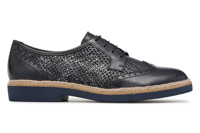 Chaussures à lacets Tamaris Girofle Bleu vue derrière