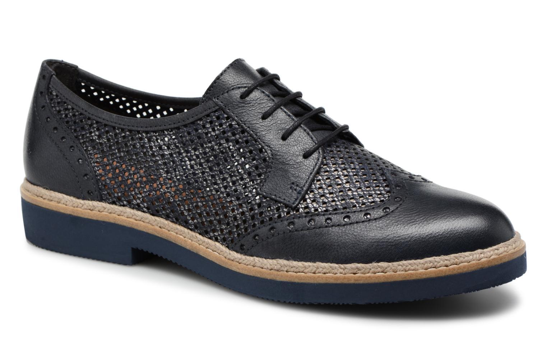 Chaussures à lacets Tamaris Girofle Bleu vue détail/paire