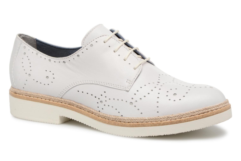 Zapatos promocionales Tamaris Cardamome (Blanco) - Zapatos con cordones   Venta de liquidación de temporada