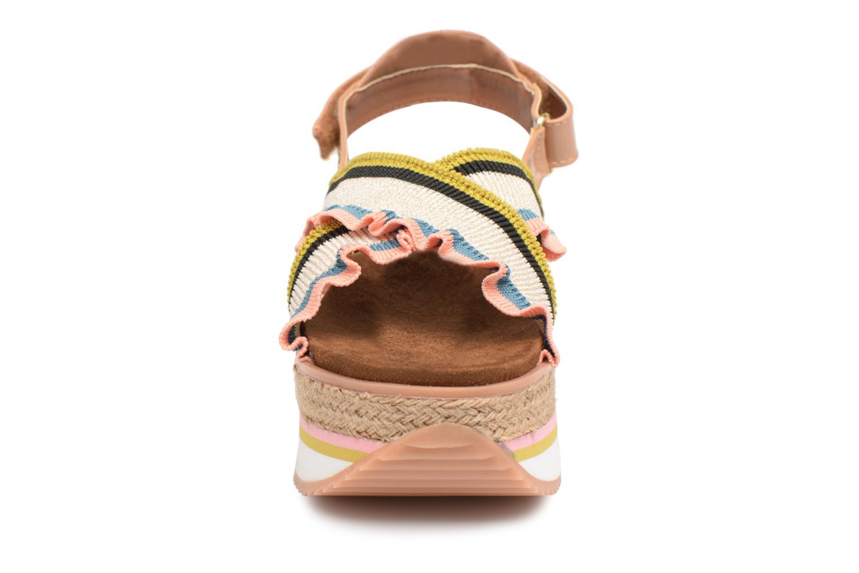 Sandales et nu-pieds Gioseppo Olimi Multicolore vue portées chaussures