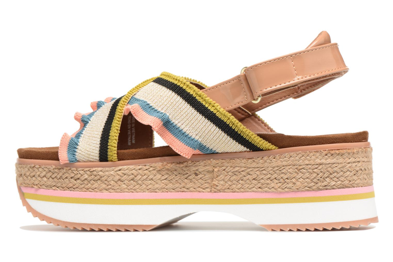 Sandales et nu-pieds Gioseppo Olimi Multicolore vue face