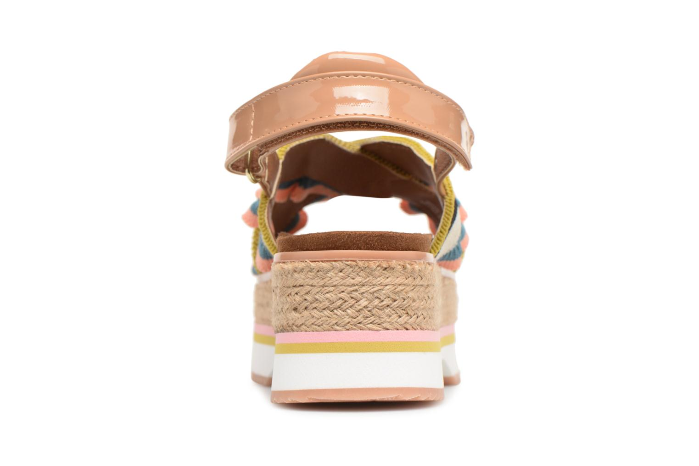 Sandales et nu-pieds Gioseppo Olimi Multicolore vue droite