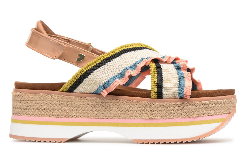 Sandales et nu-pieds Gioseppo Olimi Multicolore vue derrière
