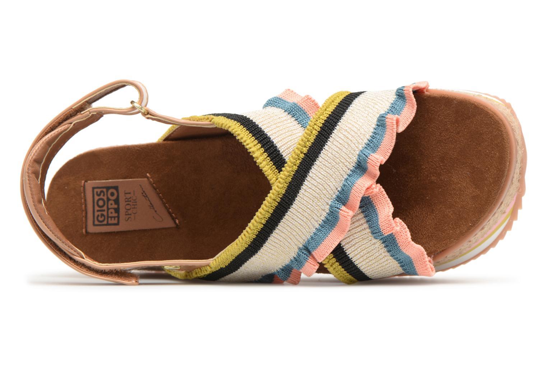Sandales et nu-pieds Gioseppo Olimi Multicolore vue gauche