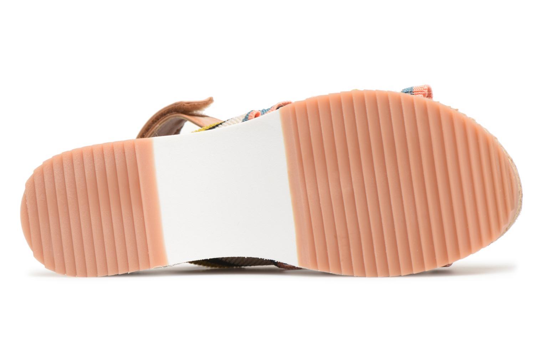 Sandales et nu-pieds Gioseppo Olimi Multicolore vue haut