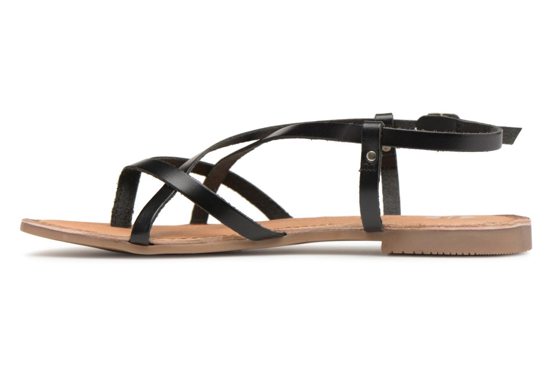 Sandales et nu-pieds Gioseppo Bomuto Noir vue face