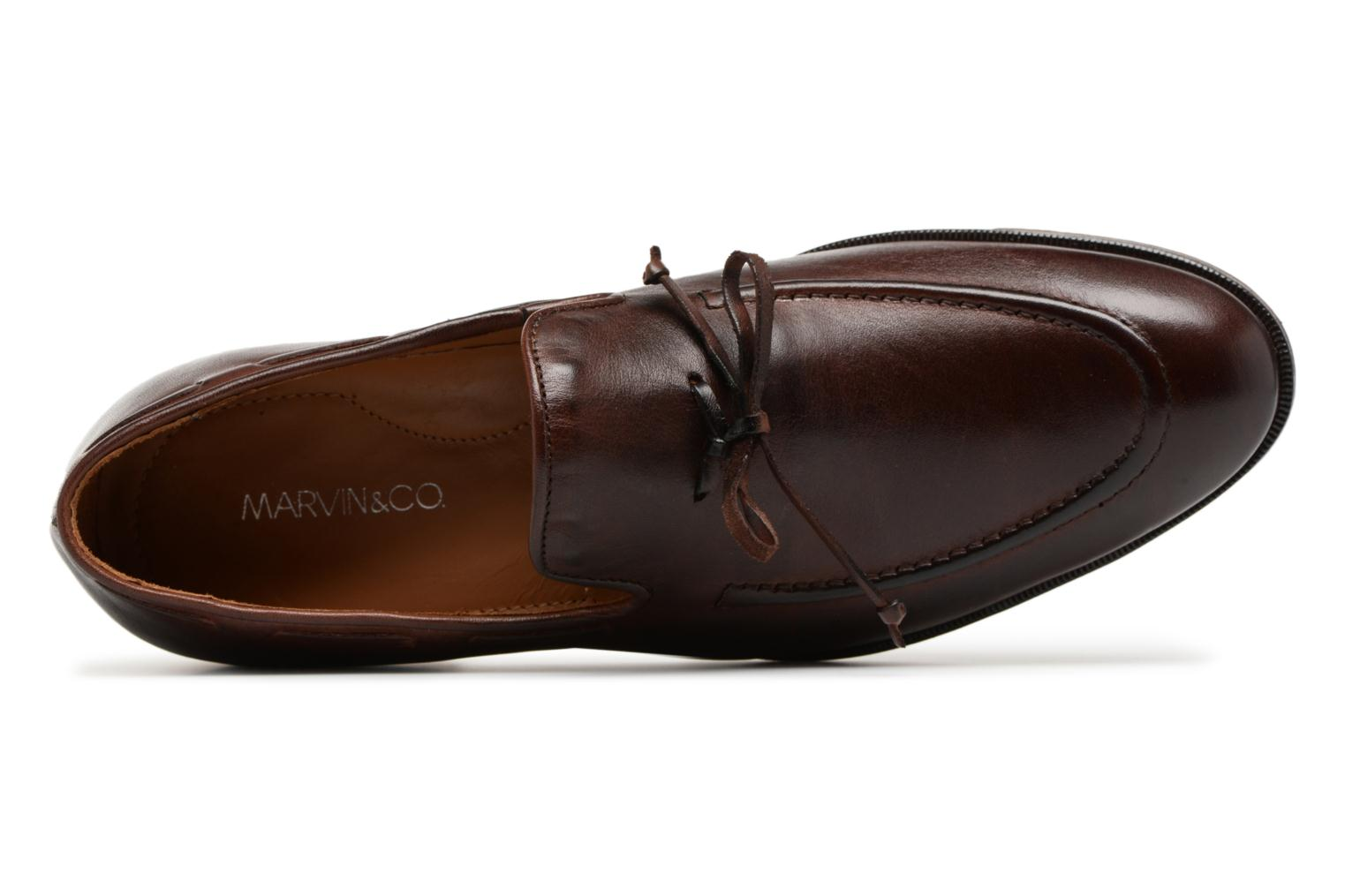 Mocassins Marvin&Co Newlace Bruin links