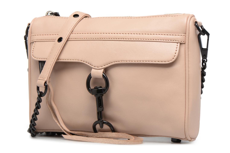 Handtaschen Rebecca Minkoff LEATHER HANDBAG HF24MFCX01 MINI MAC rosa schuhe getragen