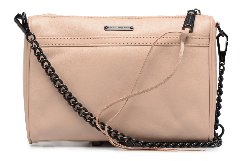 Handtaschen Rebecca Minkoff LEATHER HANDBAG HF24MFCX01 MINI MAC rosa ansicht von vorne