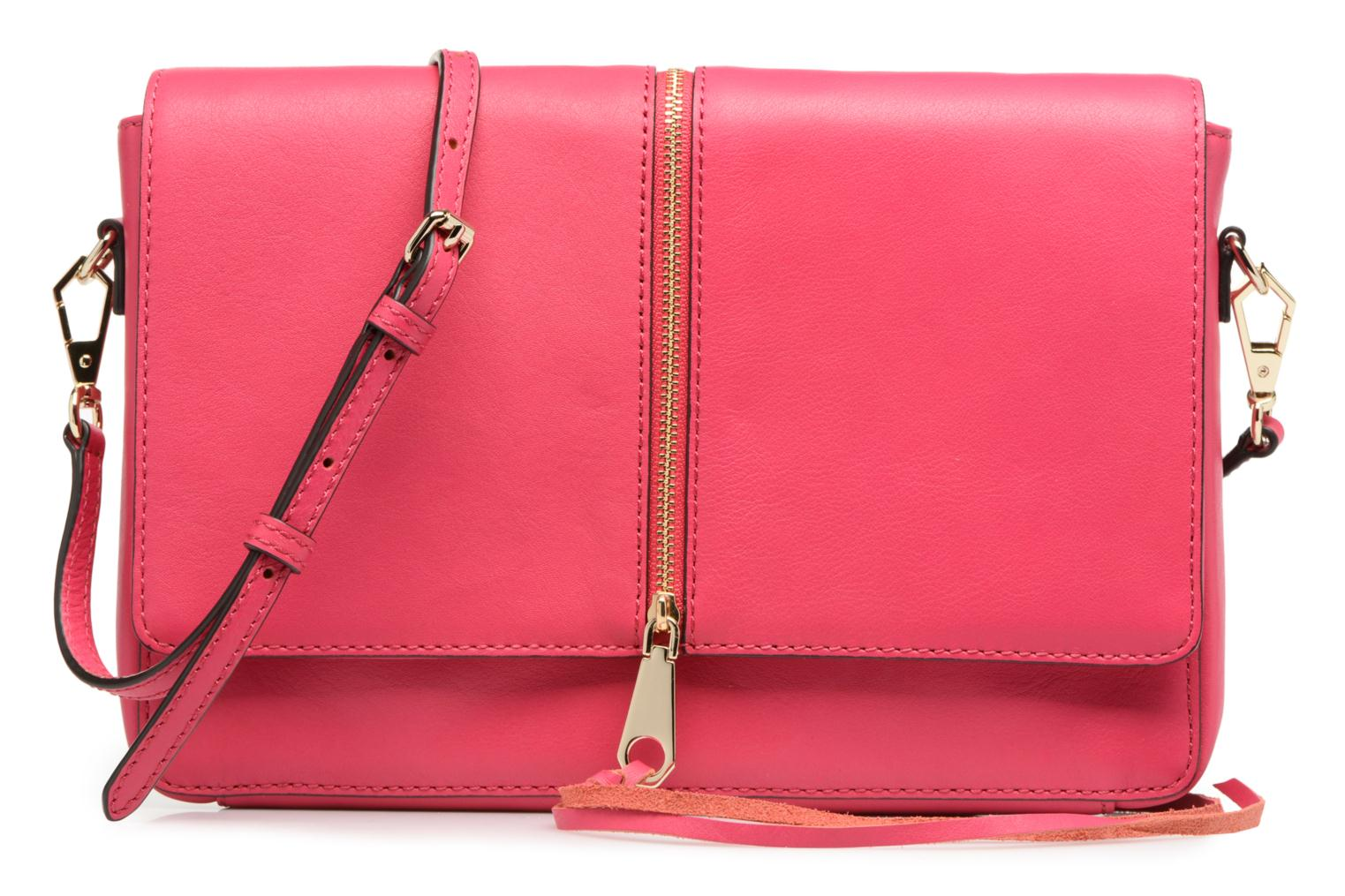 LEATHER HANDBAG HS15IFCC22 NINA ZIP CLUTCH ZEST