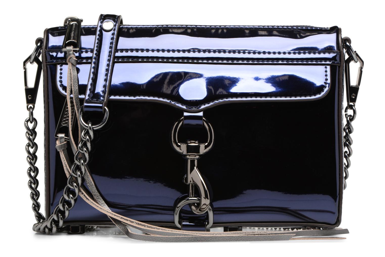 Handtaschen Rebecca Minkoff MIRRORED METALLIC MINI MAC blau detaillierte ansicht/modell