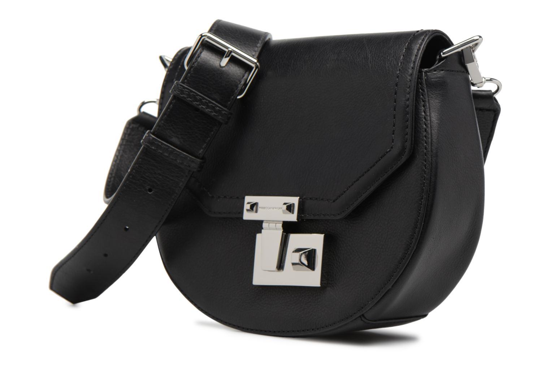 Handtaschen Rebecca Minkoff MEDIUM PARIS SADDLE BAG schwarz schuhe getragen