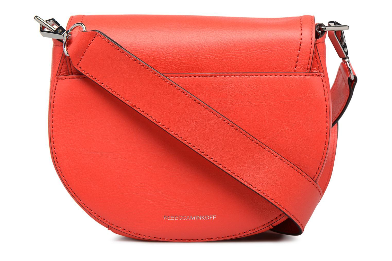 Handtaschen Rebecca Minkoff PARIS SADDLE BAG orange ansicht von vorne
