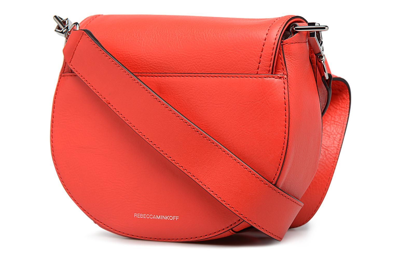 Handtaschen Rebecca Minkoff PARIS SADDLE BAG orange ansicht von rechts