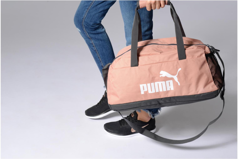 Sporttassen Puma Phase Sport Bag Zwart boven