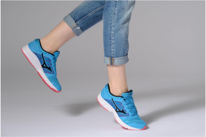 Chaussures de sport Mizuno MIZUNO EZRUN LX (W) Bleu vue bas / vue portée sac