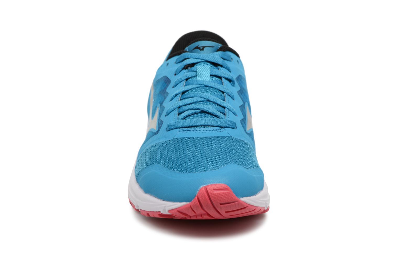 Chaussures de sport Mizuno MIZUNO EZRUN LX (W) Bleu vue portées chaussures