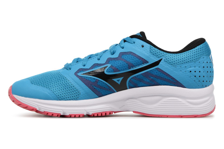 Chaussures de sport Mizuno MIZUNO EZRUN LX (W) Bleu vue face