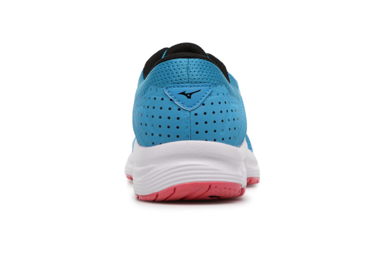 Chaussures de sport Mizuno MIZUNO EZRUN LX (W) Bleu vue droite