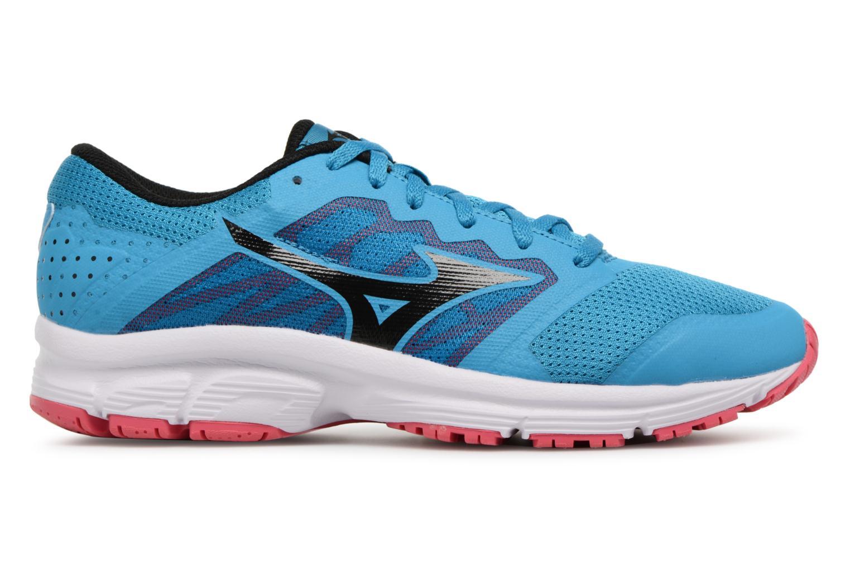 Chaussures de sport Mizuno MIZUNO EZRUN LX (W) Bleu vue derrière