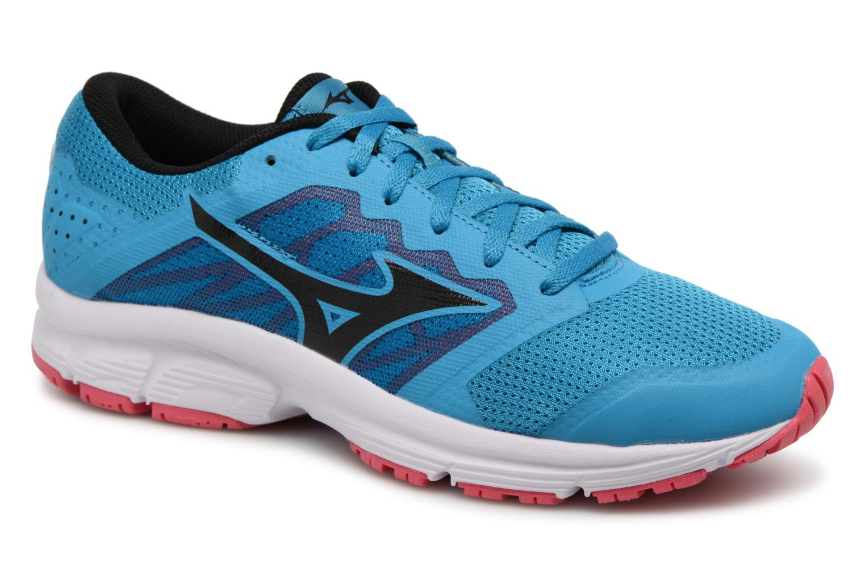Chaussures de sport Mizuno MIZUNO EZRUN LX (W) Bleu vue détail/paire