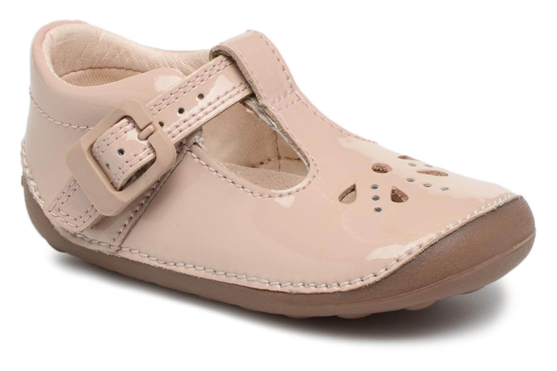 Clarks - Kinder - Little Weave - Ballerinas - rosa hkUUuxC