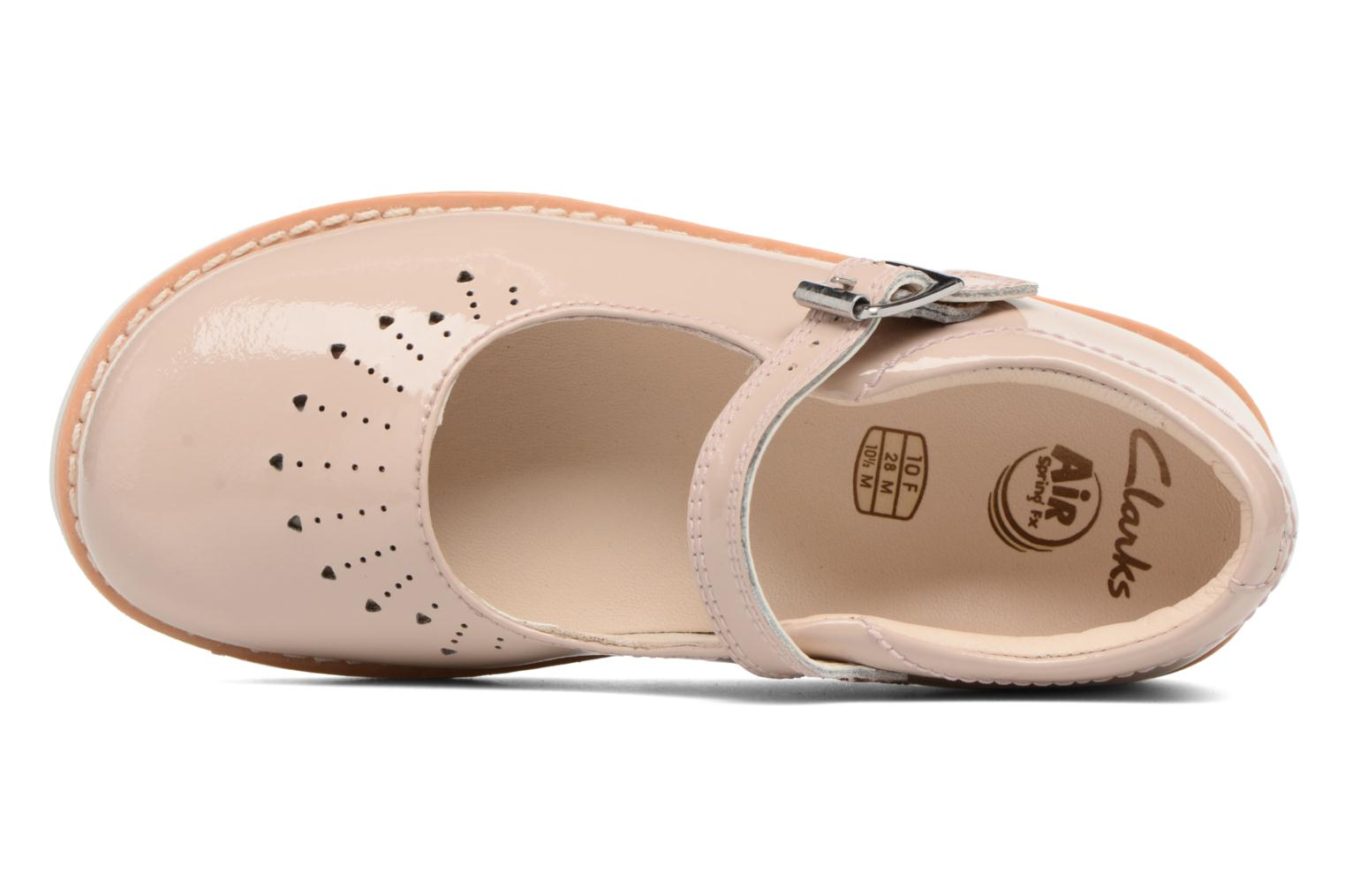 Ballet pumps Clarks Crown Jump Beige view from the left