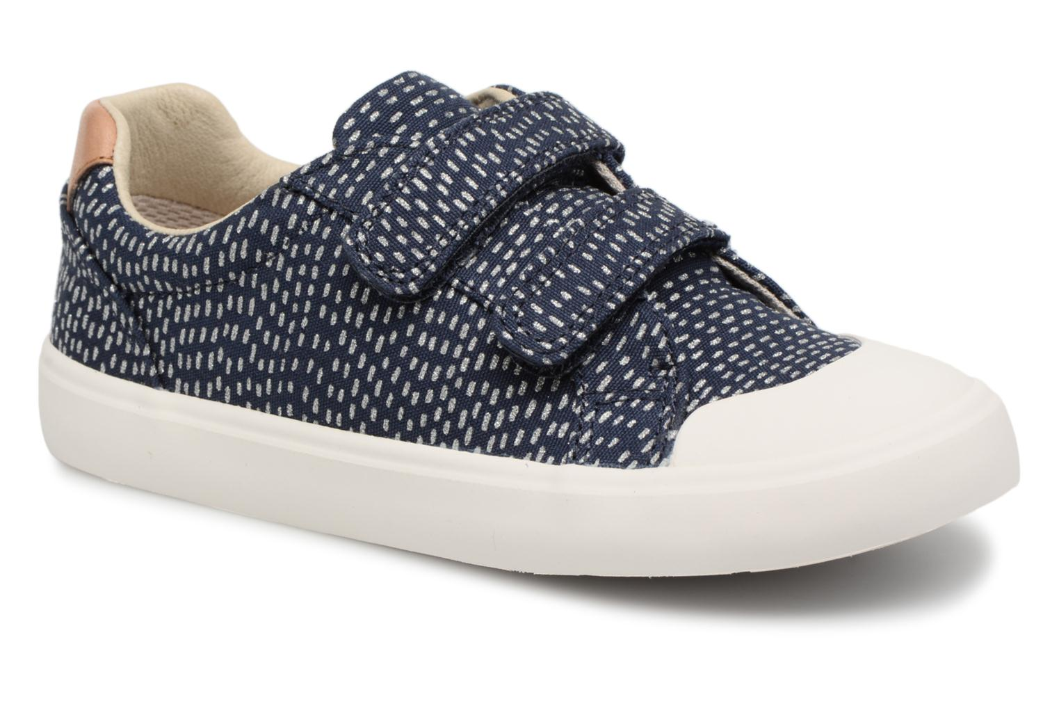 Trainers Clarks Comic Cool Blue detailed view/ Pair view