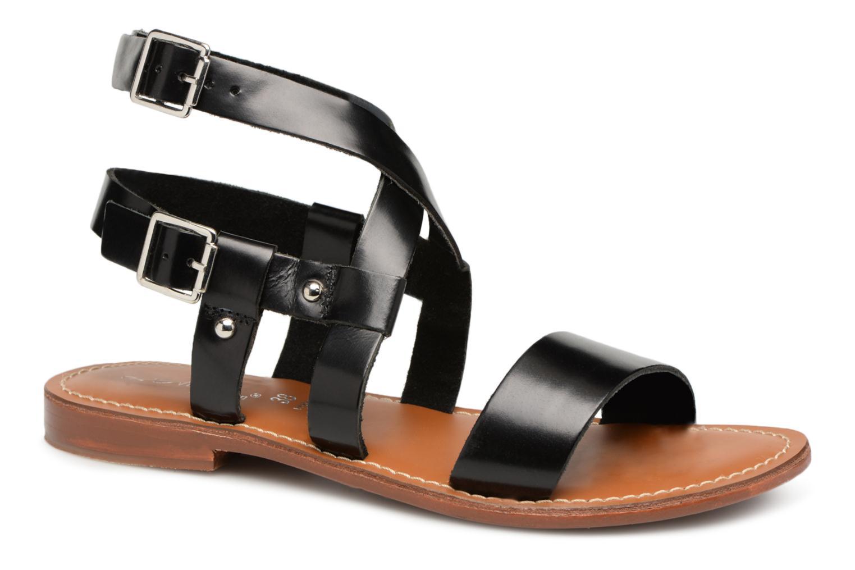 Grandes descuentos últimos zapatos L'Atelier Tropézien Lina (Negro) - Sandalias Descuento