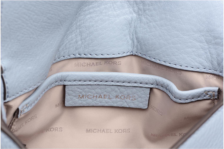 Bolsos de mano Michael Michael Kors Half Dome Crossbody Azul vistra trasera