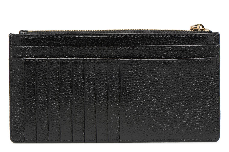 Marroquinería pequeña Michael Michael Kors LG Slim Cardcase Negro vista de frente