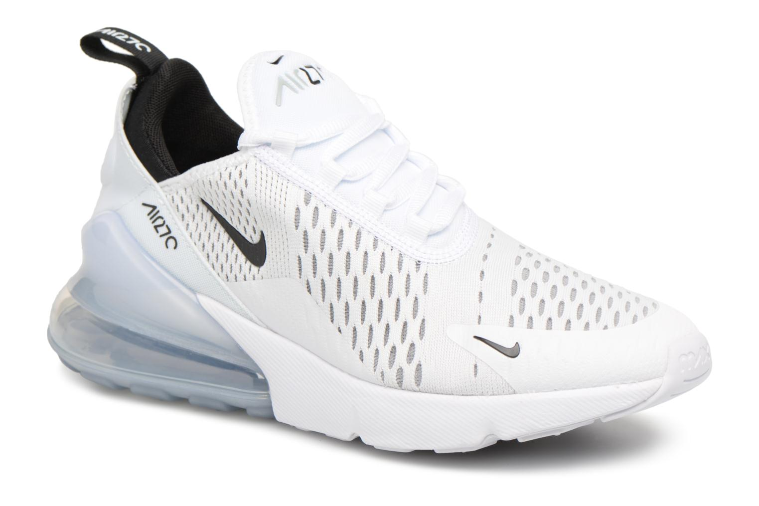 Baskets Nike Nike Air Max 270 (Gs) Blanc vue détail/paire