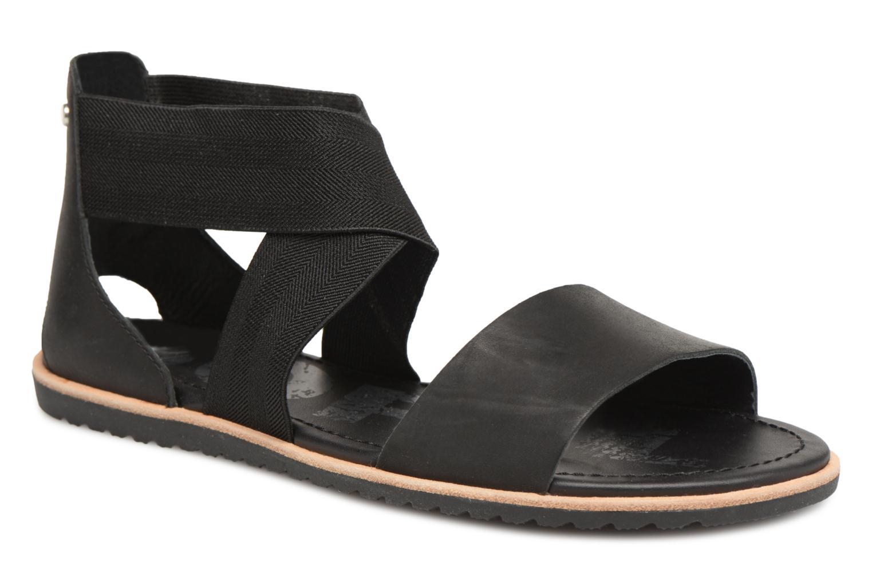 Grandes descuentos últimos zapatos Sorel Ella Sandal (Negro) - Sandalias Descuento