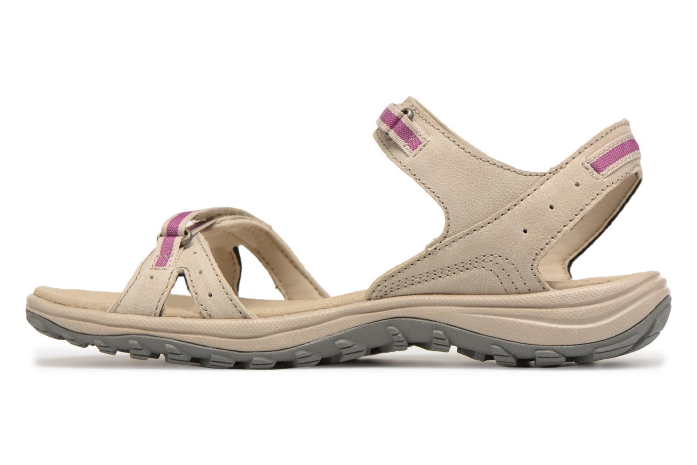 Chaussures de sport Columbia Santiam Beige vue face