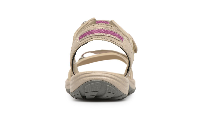 Chaussures de sport Columbia Santiam Beige vue droite