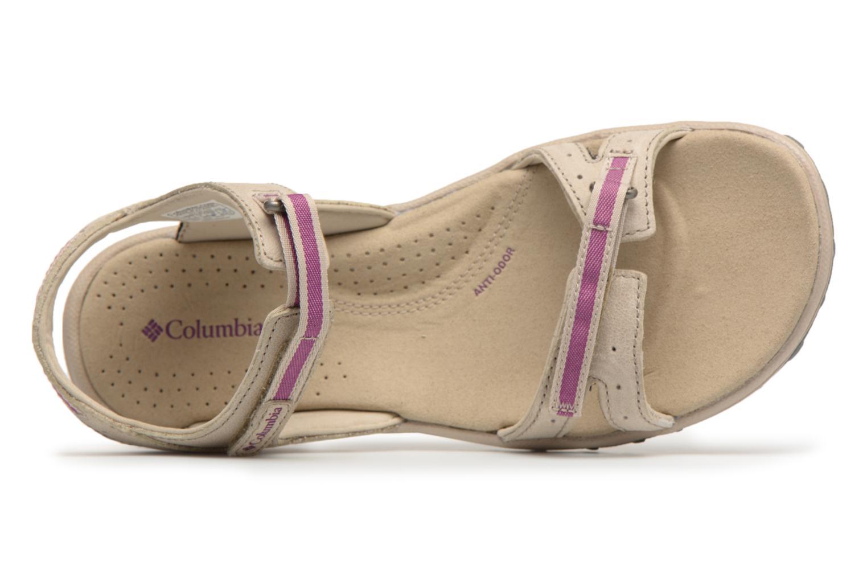 Chaussures de sport Columbia Santiam Beige vue gauche