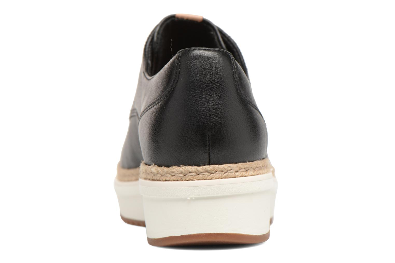 Chaussures à lacets Clarks Teadale Rhea Noir vue droite