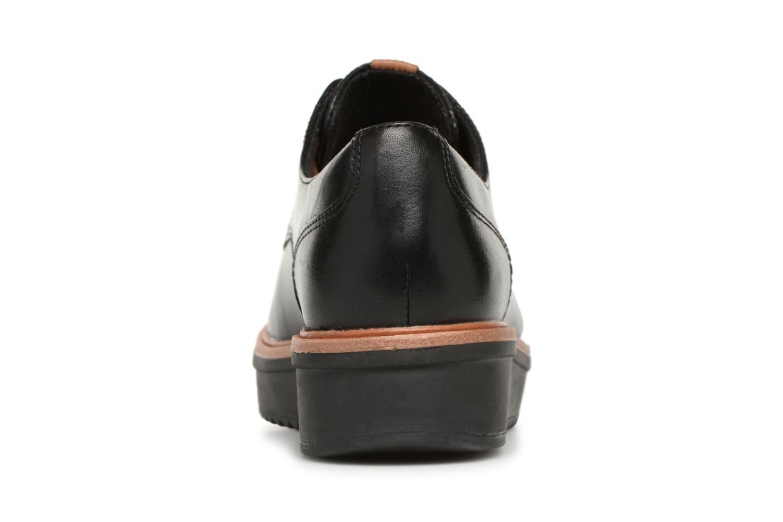 leather Rhea Black leather Clarks Teadale Teadale Black Rhea Clarks H8B6wd