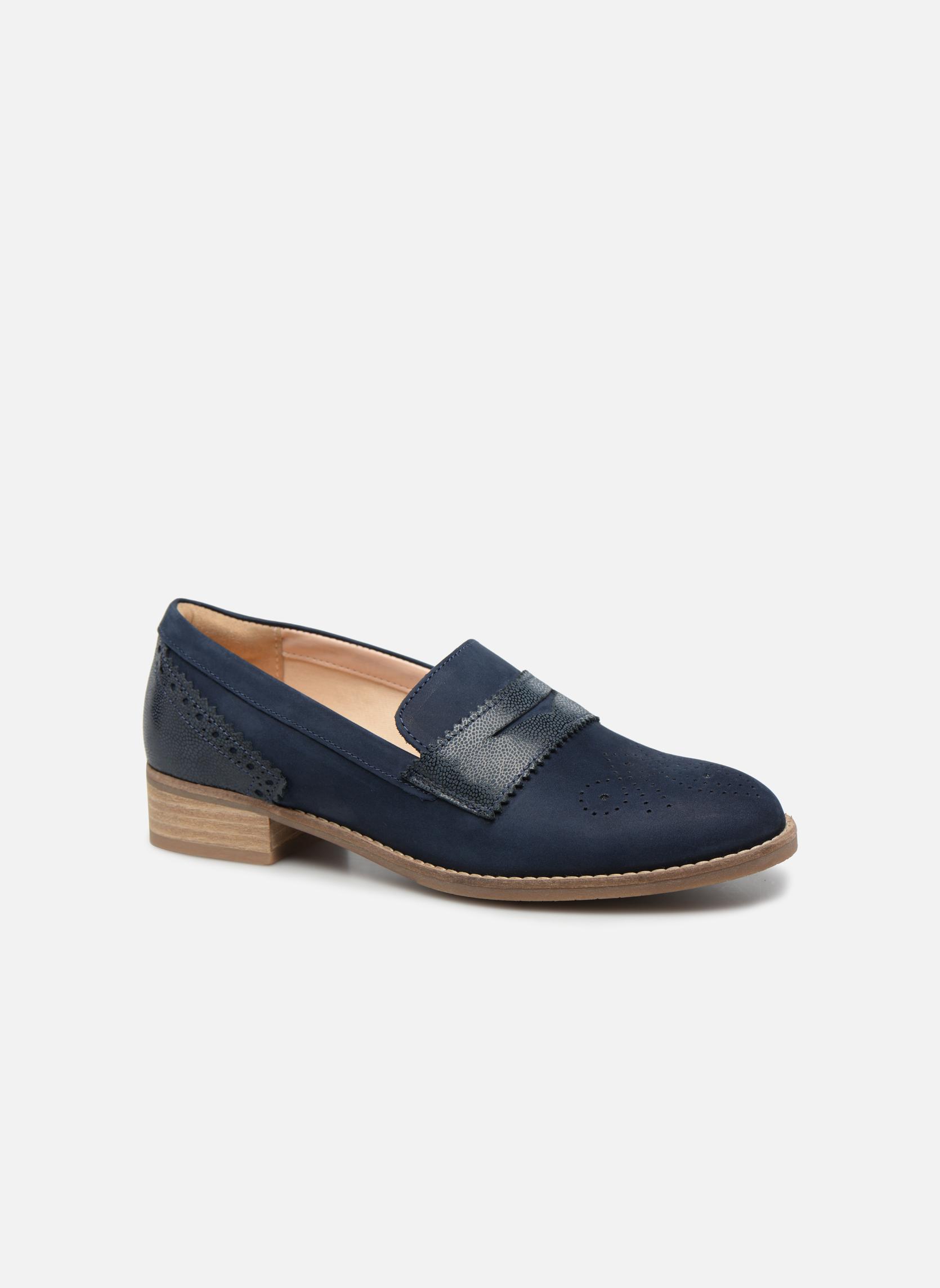 Grandes descuentos últimos zapatos Clarks Netley Lola (Azul) - Mocasines Descuento