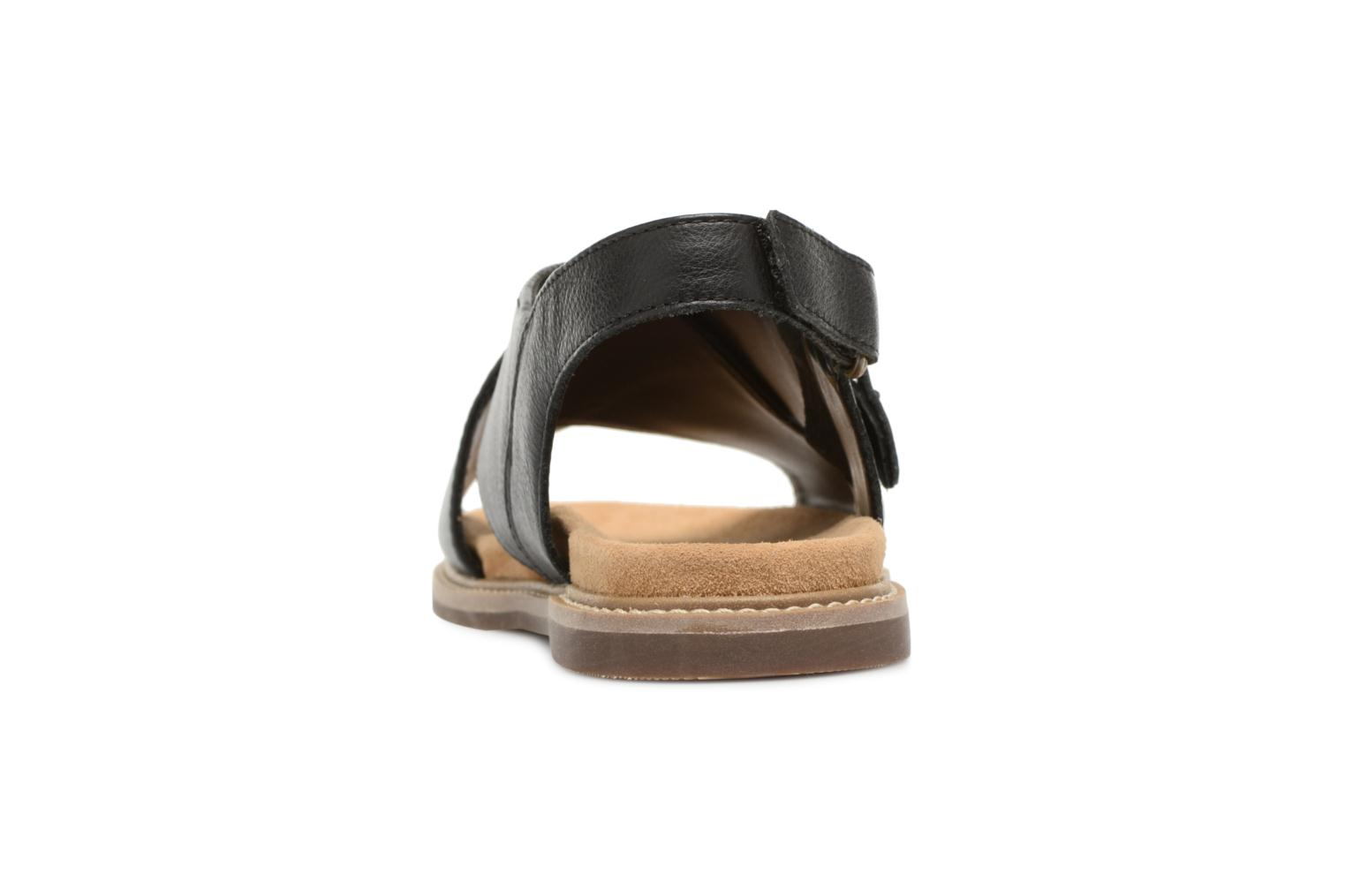 Sandals Clarks Corsio Calm Black view from the right
